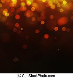 Festive gold background
