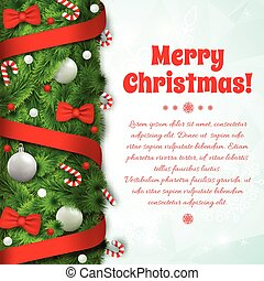Festive Holiday Template - Festive holiday template with...