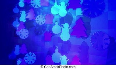 """festive, jouets, around"", rotation, noël"