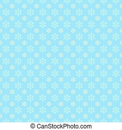 Festive pattern of snowflakes.