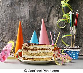 festive set for birthday party