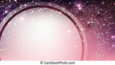 Festive shining lilac background.