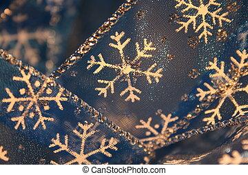 Festive Snowflake Ribbon