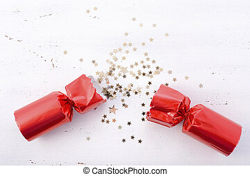 Festive surprise concept. - Festive surprise concept with...