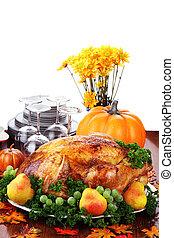 Festive Thanksgiving Dinner