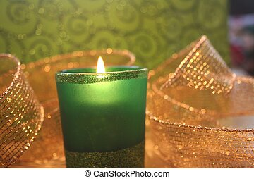 Festive Votive Candle