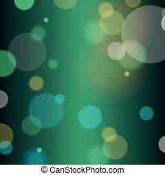 festivo, fondo, con, bokeh, defocused, luci