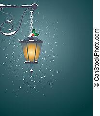 festivo, linterna