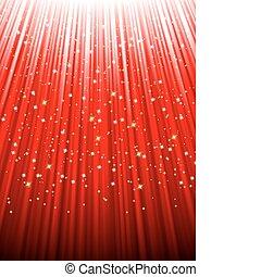 festivo, rosso, fondo., eps, 8