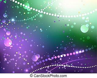 festlig, bakgrund, purpur