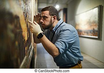 festmény, conservator