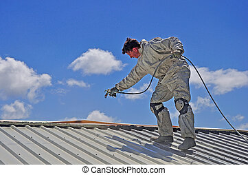 festmény, tető