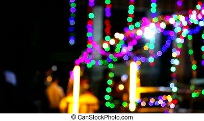 fesztivál, buddha's, állhatatos, exorcise, ünnepély, lenni, ...