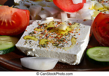 Feta cheese salad 2