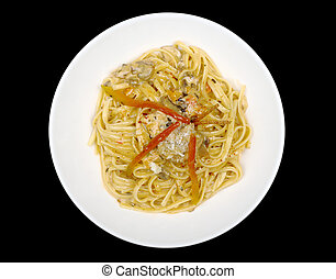 Fettuccine with Chicken