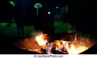 feu bois