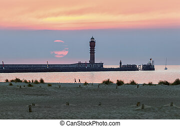 Feu de Saint Pol Lighthouse in Dunkirk