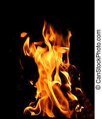 feu, flamme