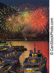 feud'artifice, exposer, monaco