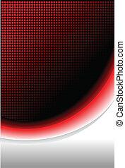 feuer, abstrakt, hintergrund, rotes
