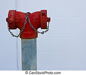 feuer, thailand, hydrant, rotes