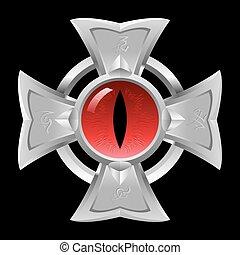 feuerdrachen, eye., amulet.