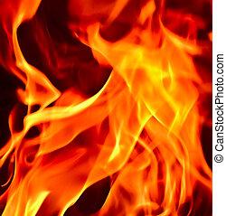 feuerflammen, feuer, hölle