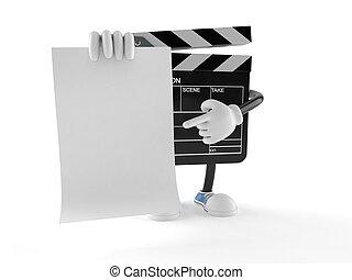 Illustrations sous licence de ardoise bardeau ou pellicule vide annonce csp8168677 - Feuille d ardoise a coller ...
