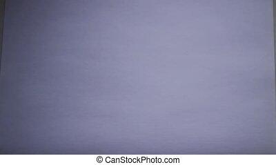 feuille blanche, marqueurs colorés