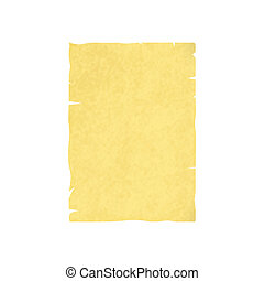 feuille, papier, vieux, vide