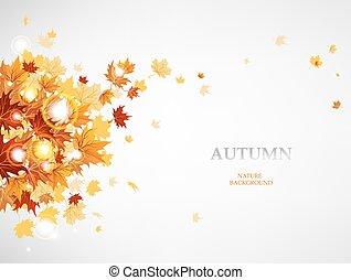 feuilles automne, voler