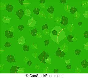 feuilles, fond