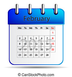 fevereiro, calendário