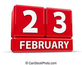 fevereiro, cubos, 23rd