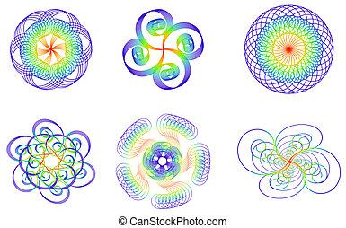 few design element; clip-art