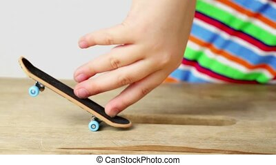 Few simple tricks on fingerboard with two fingers,...