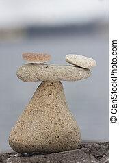 few stone on balance