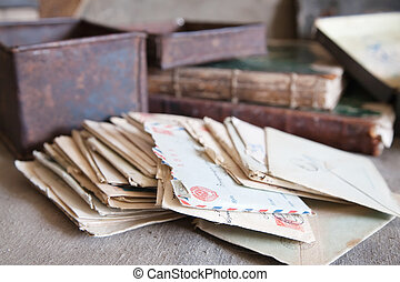 few vintage letters from an old box