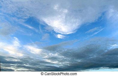 Fhoto sky with clouds - Excellent photo sky with clouds...