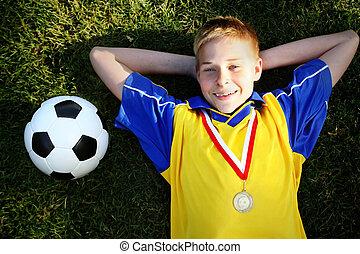 fiú, focilabda