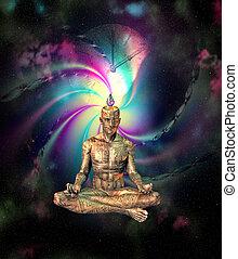 fi, meditação, sci