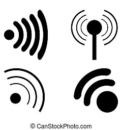 fi, set, wi, icone