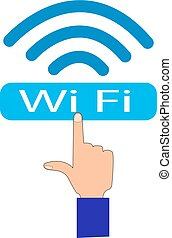 fi, wi, logo
