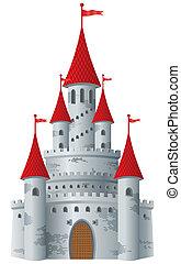 fiaba, castello