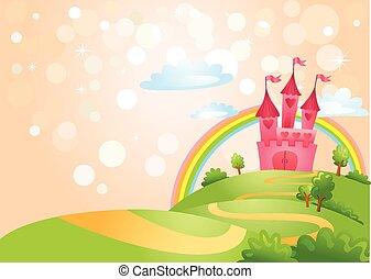 fiaba, castle.