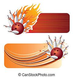 fiamme, bowling