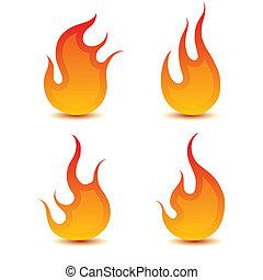 fiamme, fuoco