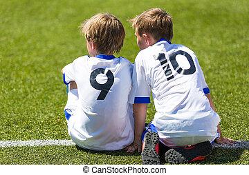 fiammifero soccer, football, bambini
