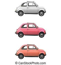 Fiat 500 - Vintage Fiat 500 Italian car from the sixties