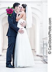 fiatal, esküvő párosít